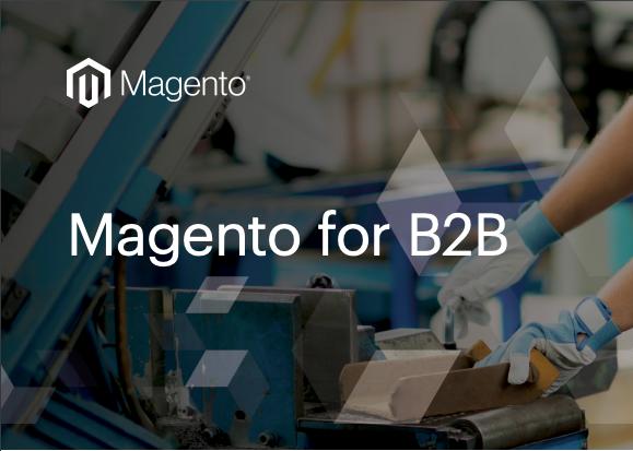 Magento2 for B2B