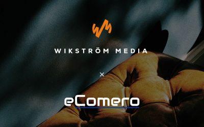 Strategiskt samarbete mellan eComero och WikströmMedia