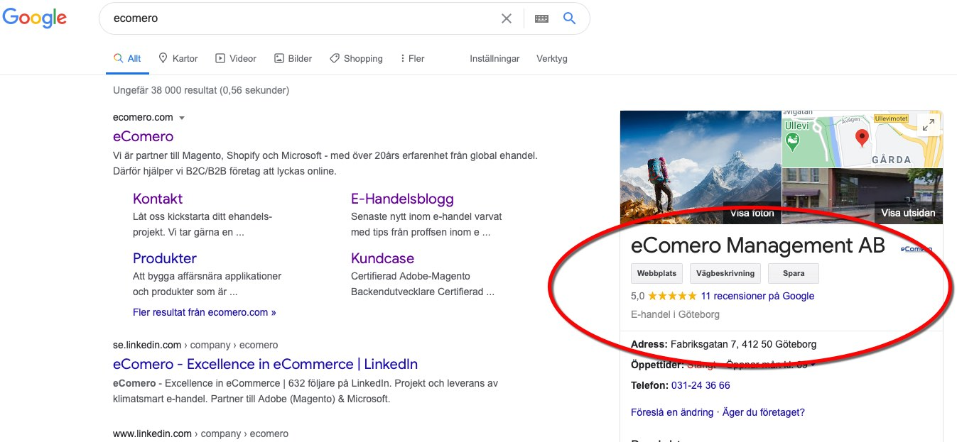 ecomero Google Reviews